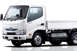 5.5 tons Standard Cab with Dropside Platform Body