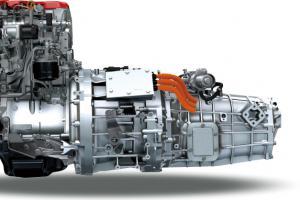 Exclusive Designed Hybrid Diesel Engine with ProShift V Transmission