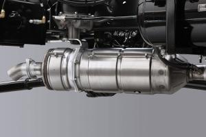 DPR system collects particulate matter in a filter with automatic regeneration to ensure clean emission.