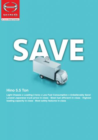 SAVE - HINO 5.5 Ton